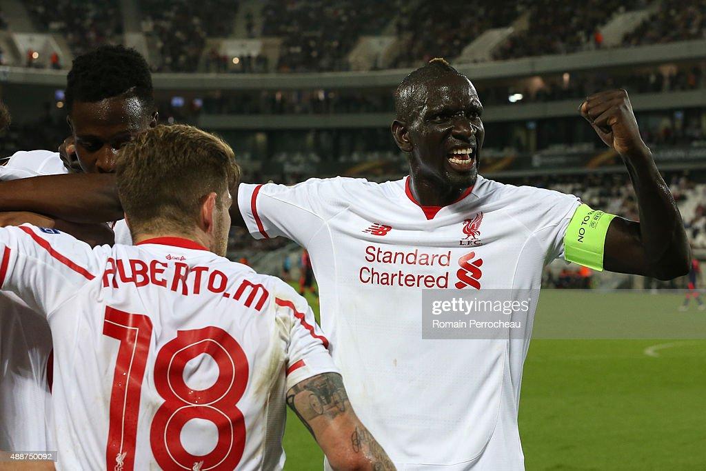 FC Girondins de Bordeaux v Liverpool FC - UEFA Europa League : News Photo