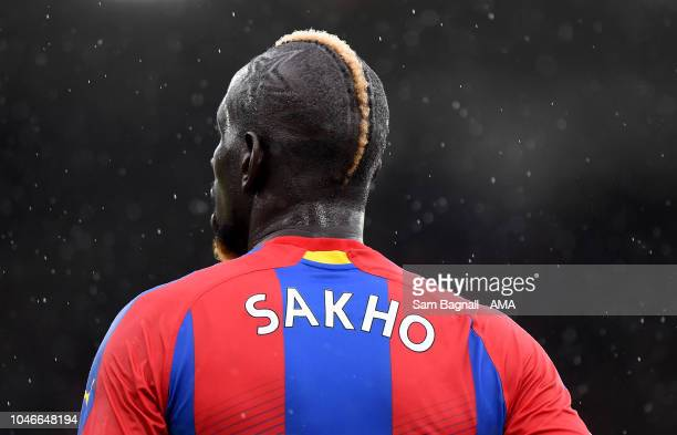 Mamadou Sakho of Crystal Palace during the Premier League match between Crystal Palace and Wolverhampton Wanderers at Selhurst Park on October 6,...