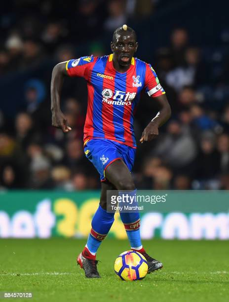 Mamadou Sakho of Crystal Palace during the Premier League match between West Bromwich Albion and Crystal Palace at The Hawthorns on December 2 2017...