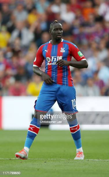 Mamadou Sakho of Crystal Palace in action during the Premier League match between Crystal Palace and Aston Villa at Selhurst Park on August 31, 2019...
