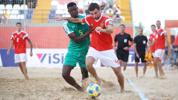 PRY: Senegal v Russia - FIFA Beach Soccer World Cup Paraguay 2019