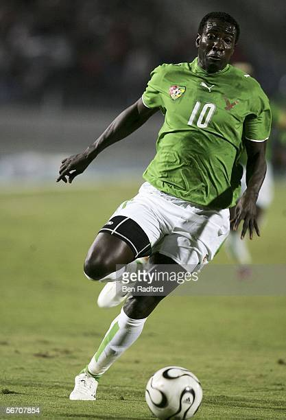 Maman Cherif Toure of Togo during The African Cup of Nations Group B match between Angola and Togo at The Cairo International Stadium on January 29...