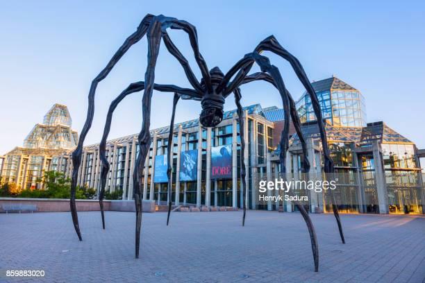 Maman sculpture in Ottawa