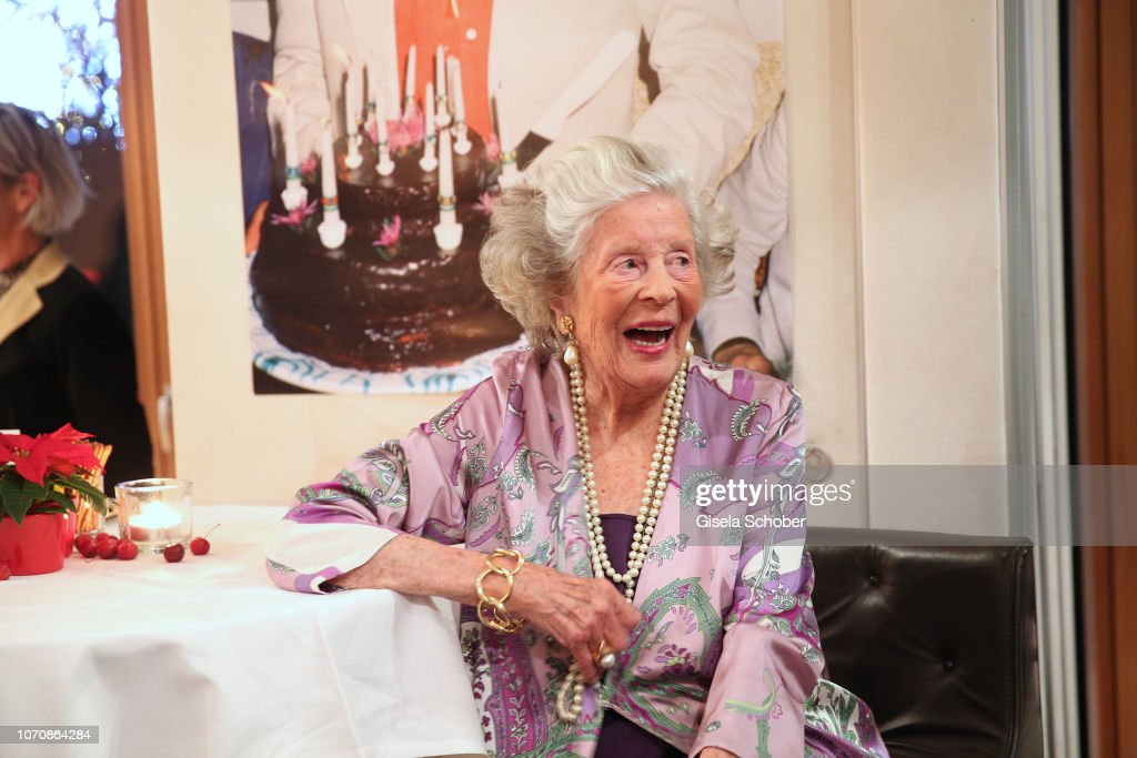 Princess Marianne zu Sayn-Wittgenstein-Sayn Celebrates Her 99th Birthday In Kitzbuehel : News Photo
