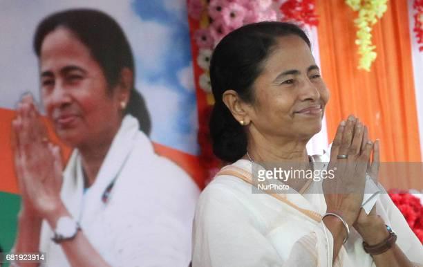 Mamata Banerjee chief minister of West Bengal at 2561 BUDDHA JAYANTI Festival at kolkata on May 11 India.