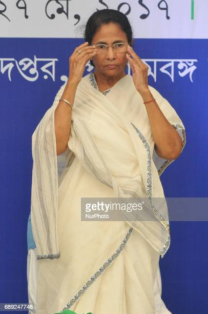 Mamata Banerjee Chief Minister of West Bengal during Six Years celebration Trinamool Congress Government at State Secetriyat office Nabanna on May...