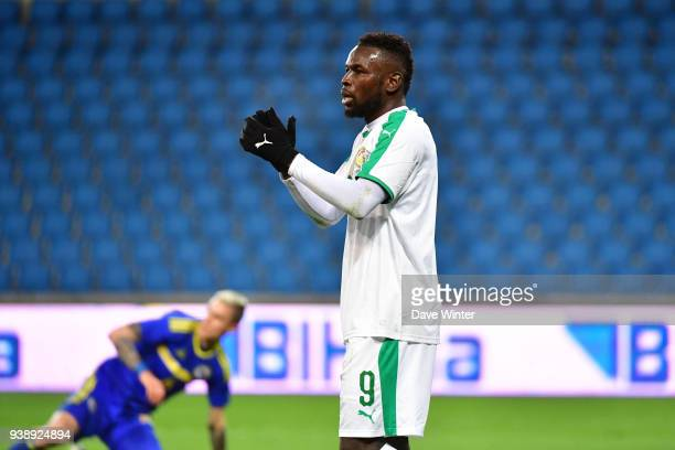 Mame Biram Diouf of Senegal during the international friendly match match between Senegal and Bosnia Herzegovina on March 27 2018 in Le Havre France