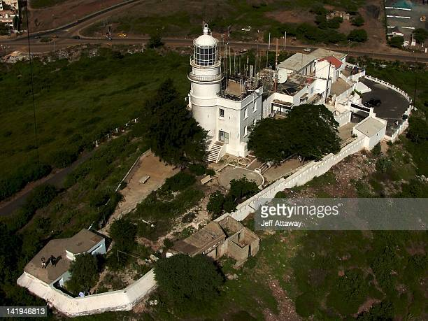 mamelles lighthouse - dakar photos et images de collection