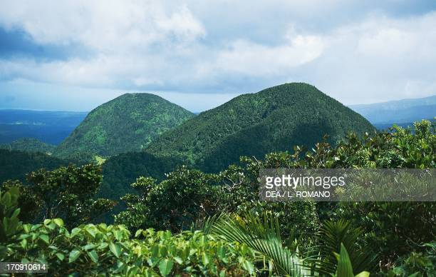 Mamelles Summits Guadeloupe National Park Guadeloupe Overseas Department of France