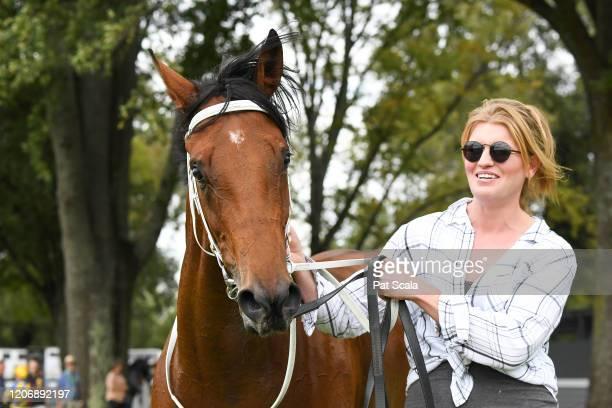 Mamelon after winning the bet365 Maiden Plate at Kyneton Racecourse on March 13 2020 in Kyneton Australia
