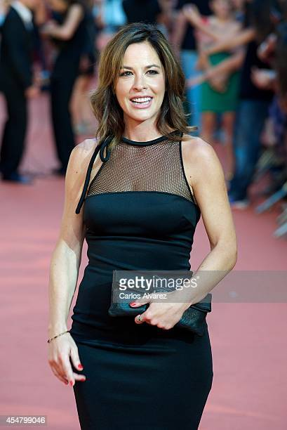 Mamen Mendizabal attends the 6th FesTVal Television Festival 2014 closing ceremony at the Principal Theater on September 6 2014 in VitoriaGasteiz...