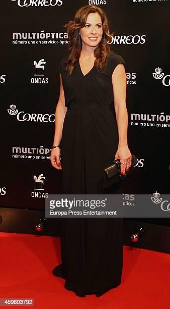 Mamen Mendizabal attends the Onda Awards 2014 Gala on November 25 2014 in Barcelona Spain