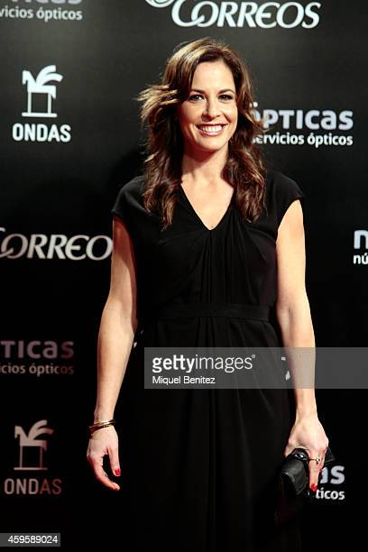 Mamen Mendizabal poses during a photocall the 61st Ondas Awards 2014 at the Gran Teatre del Liceu on November 25 2014 in Barcelona Spain