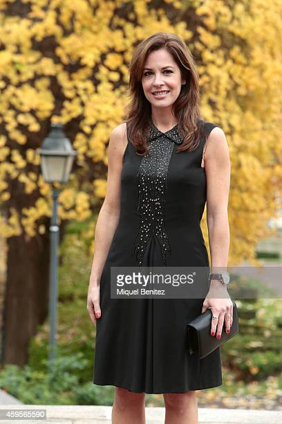 Mamen Mendizabal poses for the press during the 61st Ondas Awards 2014 press conference luncheon held at the Palauet Albeniz on November 25 2014 in...