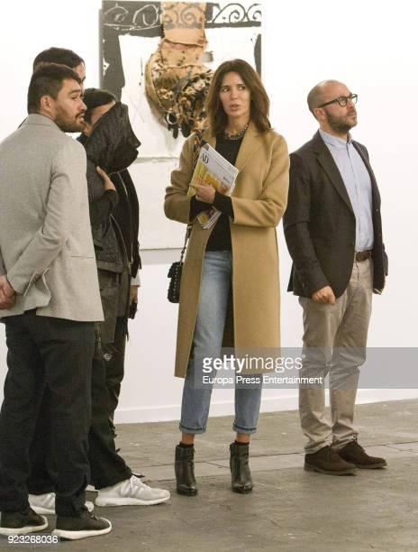 Mamen Sanz attends the International Contemporary Art Fair ARCO 2018 at Ifema on February 22 2018 in Madrid Spain