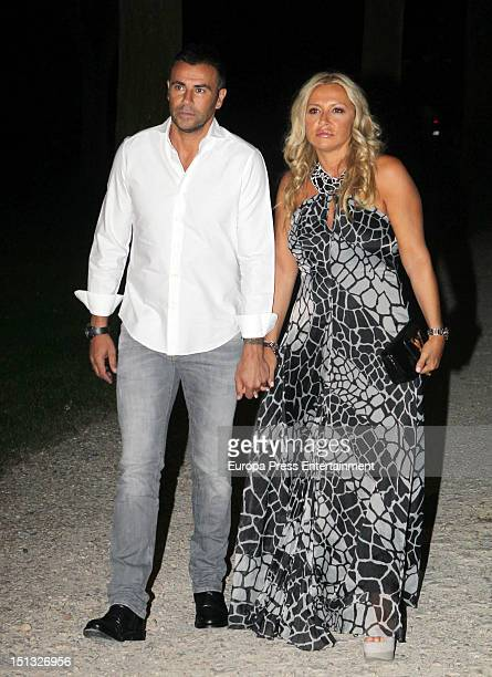 Mami Quevedo and Cristina Tarrega attend the 47th birthday party of Terelu Campos at Casa Monico Restaurant on September 5 2012 in Madrid Spain