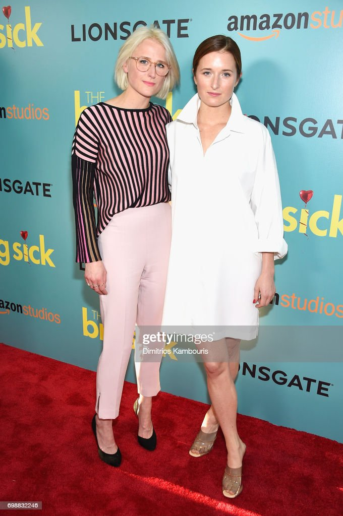 Mamie Gummer and Grace Gummer attend 'The Big Sick' New York Premiere at The Landmark Sunshine Theater on June 20, 2017 in New York City.