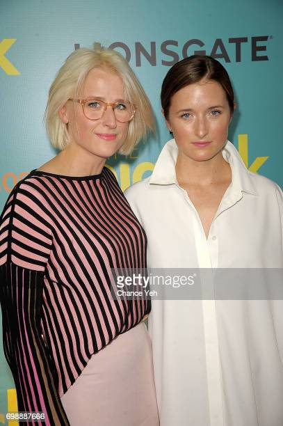 Mamie Gummer and Grace Gummer attend 'The Big Sick' New York premiere at The Landmark Sunshine Theater on June 20 2017 in New York City