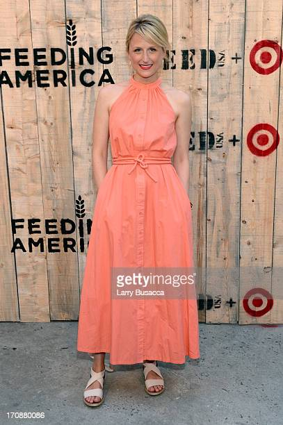 Mamie Gummer attends FEED USA Target launch event on June 19 2013 in New York City