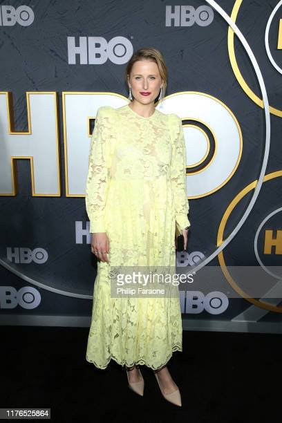 Mamie Gummer attends HBO's Post Emmy Awards Reception on September 22, 2019 in Los Angeles, California.