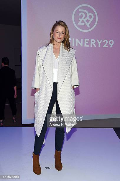 Mamie Gummer attends Refinery29 presents Forever Forward at the 2015 Digital Content New Fronts on April 29 2015 in New York City