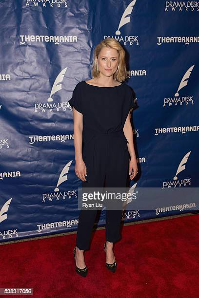 Mamie Gummer attends the 2016 Drama Desk Awards at Anita's Way on June 5 2016 in New York City