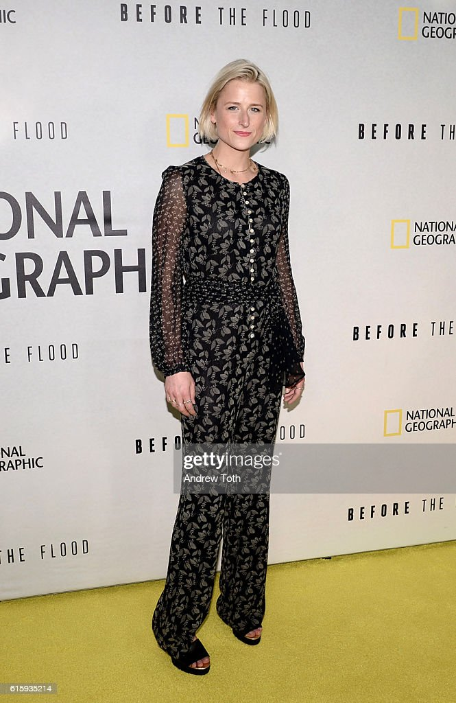 """""""Before The Flood"""" New York Premiere"""