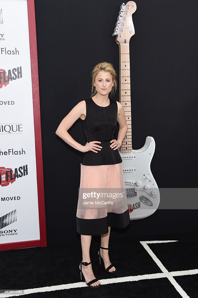 Mamie Gummer attends the New York premier of 'Ricki And The Flash' at AMC Lincoln Square Theater on August 3, 2015 in New York City.