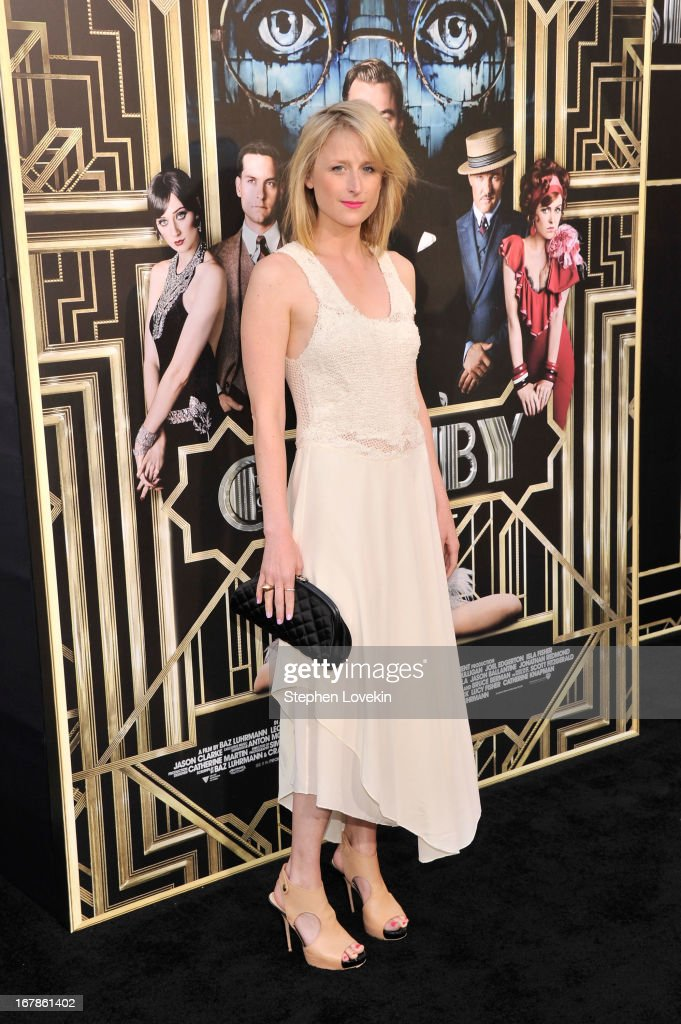 Mamie Gummer attends the 'The Great Gatsby' world premiere at Avery Fisher Hall at Lincoln Center for the Performing Arts on May 1, 2013 in New York City.