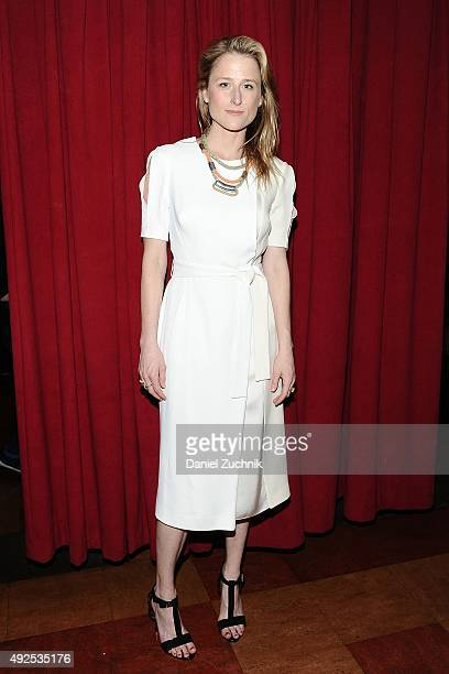 Mamie Gummer attends the 'Ugly Lies The Bone' Opening Night on October 13 2015 in New York City