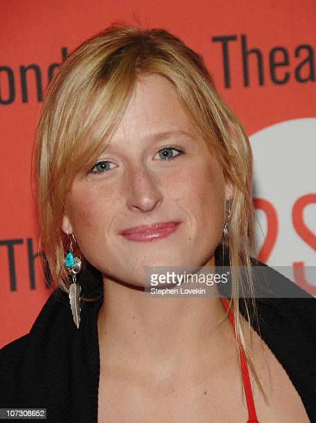 Mamie Gummer during Opening Night for Second Stage Theatre's Production of Eric Bogosian's 'subUrbia' Arrivals at Second Stage Theatre in New York...