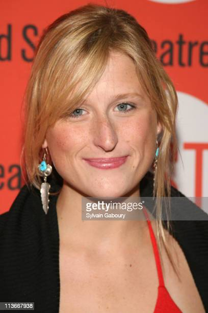Mamie Gummer during Opening Night for the Second Stage Theatre Production of Eric Bogodian's 'Suburbia' Arrivals at Second Stage Theatre at 307 West...