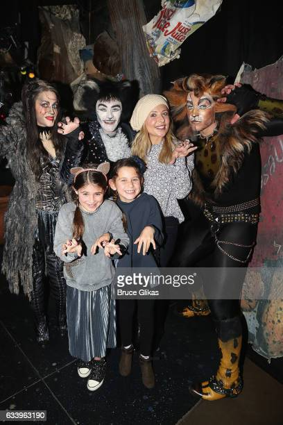 Mamie Parris as Grizabella Ricky Ubeda as Mr Mistoffeles Charlotte Grace Prinze mother Sarah Michelle Gellar family friend of Grace and Tyler Hanes...