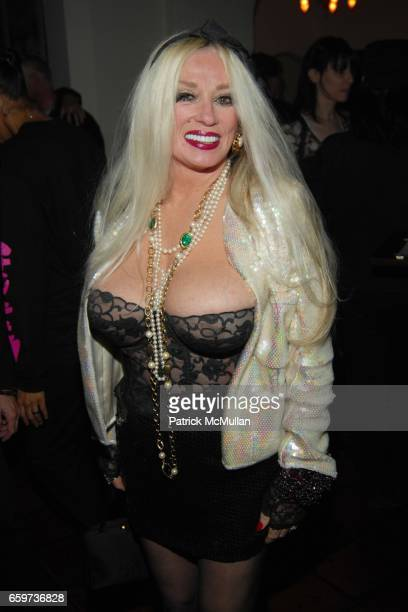 Mamie Van Doren attends Mauricio and Roger Padilha's The Stephen Sprouse Book Launch at The Chateau Marmont on March 10 2009 in Hollywood California