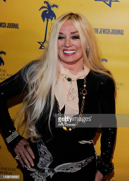 Mamie Van Doren attends the LA Jewish Film Festival Celebrates Tony Curtis event at Writers Guild Theater on May 3 2012 in Beverly Hills California