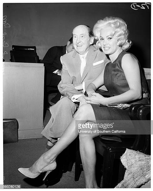 Mamie Van Doren divorce in Santa Monica Superior Court Mamie Van Doren 26 and atty Jerry Giesler