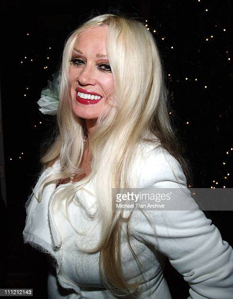 Mamie Van Doren during The Thalians 50th Anniversary Musical Extravaganza Gala Arrivals at Hyatt Regency Century City Plaza in Los Angeles California...