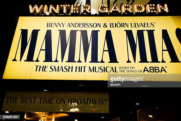 Mamma Mia musical in Broadway