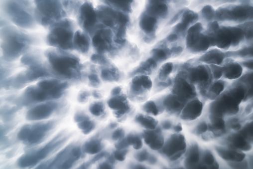 Mammatus Clouds before rain storm coming - gettyimageskorea