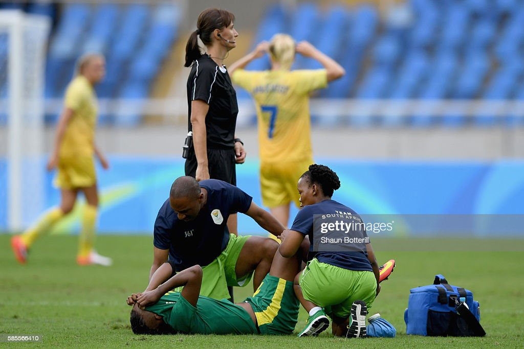 Sweden v South Africa: Women's Football - Olympics: Day -2 : News Photo