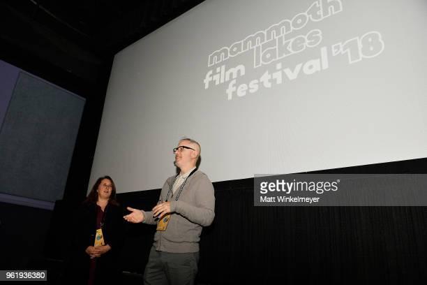 Mammoth Lakes Film Festival Director Shira Dubrovner and Mammoth Lakes Film Festival Programmer Paul Sbrizzi attend the 2018 Mammoth Lakes Film...