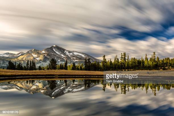 mammoth peak timescape - tom grubbe stock pictures, royalty-free photos & images
