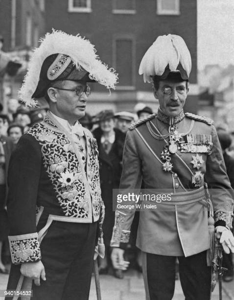 Mamoru Shigemitsu , the Japanese Ambassador to the United Kingdom, leaves the Japanese Legation in Grosvenor Square to present his credentials to the...