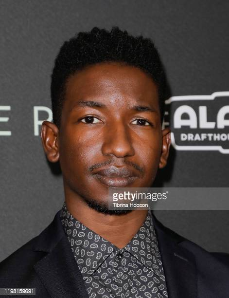 """Mamoudou Athie attends a special fan screening of 20th Century Fox's """"Underwater"""" at Alamo Drafthouse Cinema on January 07, 2020 in Los Angeles,..."""
