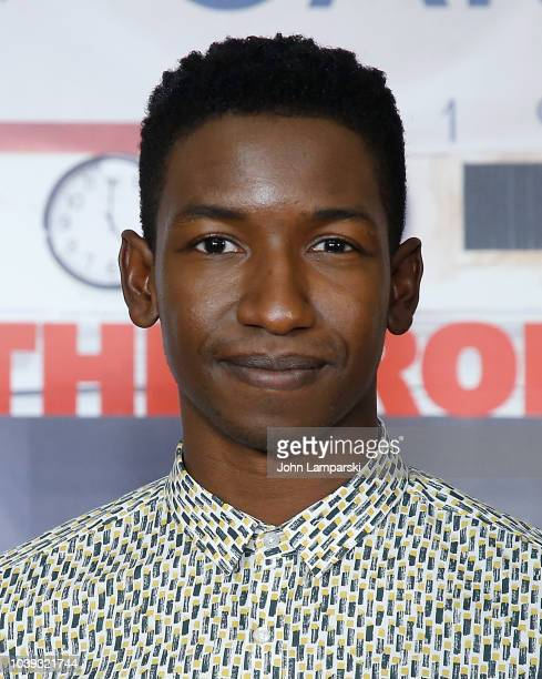 Mamoudou Athie attends 'The Front Runner' photo call at Crosby Street Hotel on September 24 2018 in New York City