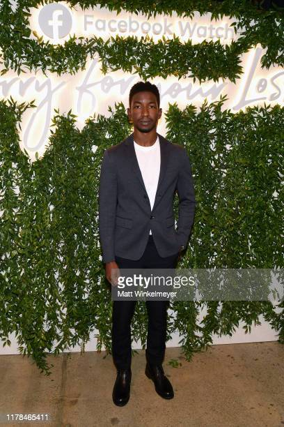 Mamoudou Athie attends the Sorry For Your Loss season 2 premiere event at NeueHouse Los Angeles on October 01 2019 in Hollywood California