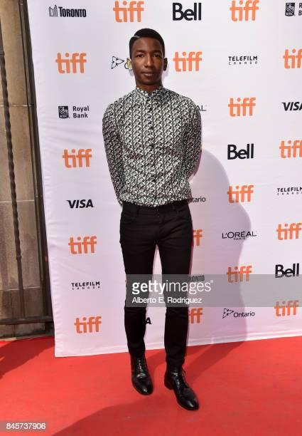 Mamoudou Athie attends the 'Unicorn Store' premiere during the 2017 Toronto International Film Festival at Ryerson Theatre on September 11 2017 in...