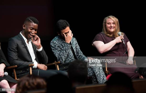 Mamoudou Athie Siddharth Dhananjay and Danielle Macdonald visit SAGAFTRA Foundation to discuss 'Patti Cake$' at SAGAFTRA Foundation Robin Williams...
