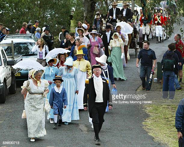 Mamre Homestead St Marys celebrates the bicentennary of the original landgrant to the Rev Samuel Maesden attended by her excellency Prof Marie Bashir...
