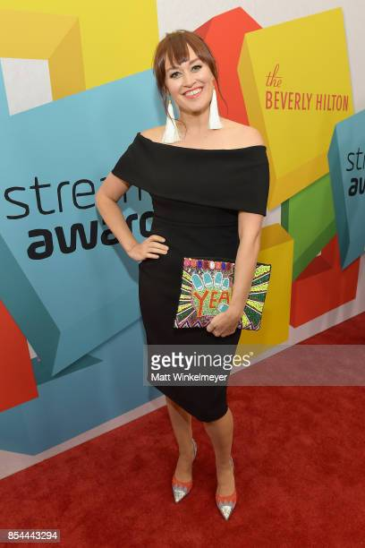 Mamrie Hart at the 2017 Streamy Awards at The Beverly Hilton Hotel on September 26 2017 in Beverly Hills California